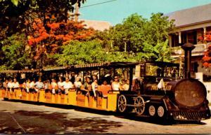 Florida Key West 64 Passenger Conch Tour Train 1970