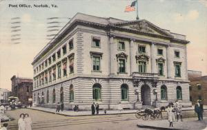 Post Office, Norfolk, Virginia, PU-1913
