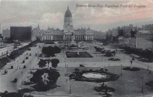 Congress Plaza, Buenos Aires, Argentina, Early Postcard, Used in 1922