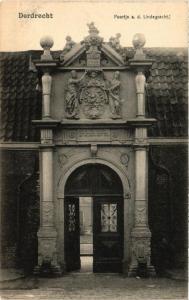 CPA DORDRECHT Poortje a. d. Lindegracht NETHERLANDS (604884)