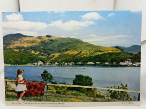 New Vintage Postcard Inveraray Arrochar Dunbartonshire from Inveraray Road 1960s