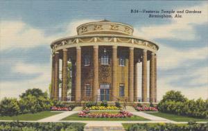 Alabama Birmingham Vestavia Temple And Gardens Curteich