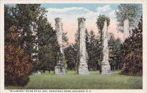 Millwood Ruins Of Ex Gov Hamptons Home Columbia South Carolina