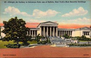 New York Buffalo Albright Art Gallery Curteich