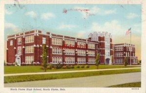 NORTH PLATTE HIGH SCHOOL, NEBRASKA 1945