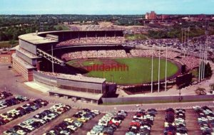 MILWAUKEE COUNTY STADIUM home to the Braves and Green Bay Packers, MILWAUKEE, WI