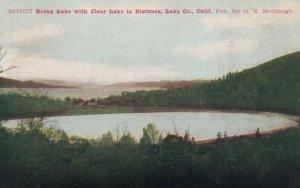 LAKE CO., California, 1910; Borax Lake with Clear Lake in Distance