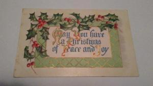 1909 CHRISTMAS POSTCARD - $25 or best offer