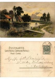 CPA Freude und Friede Meissner & Buch Litho Serie 1260 (730484)