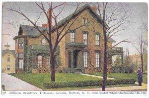 Millburn Residence, Delaware Avenue, Buffalo, N.Y. where President McKinley Died