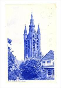Oude Kerkstoren, Delft (South Holland), Netherlands, PU-1954