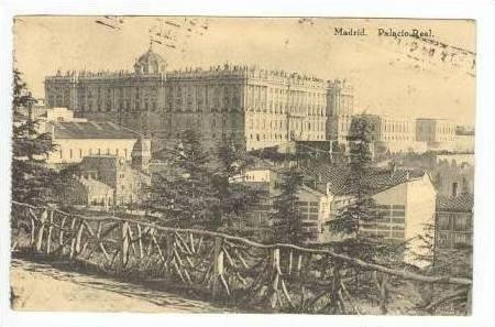 Madrid, Palacio Real, Spain, PU 1919