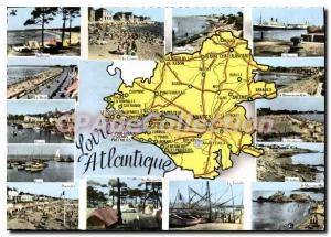 Postcard Modern Loire Atlantique