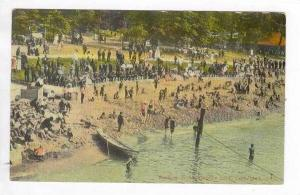 Bathing Beach, Gordan Park, Cleveland, Ohio, PU-1912