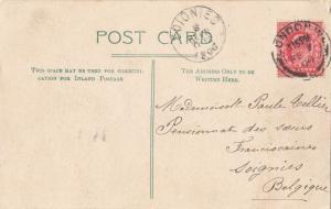 United Kingdom, London, Houses of Parliament, 1906 used Postcard