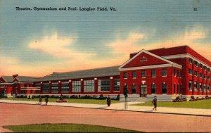 Virginia Langley Field Theatre Gymnasium and Pool
