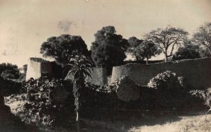Zimbabwe Ruins ,Fort Victoria S. Rhodesia real photo Postcard