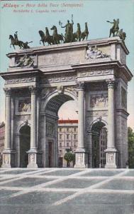 Italy Milano Arco della Pace Sempione