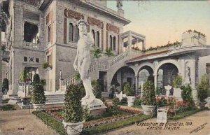 Exposition Universelle Bruxelles 1910 Jardin Italien