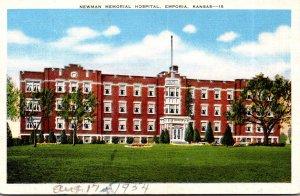 Kansas Emporia Newman Memorial Hospital