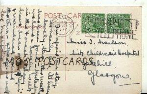 Genealogy Postcard - Nerlson? - Sick Children's Hospital - Glasgow - Ref 9556A