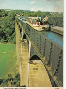 LLANGOLLEN, Wales, United Kingdom, PU-1984; Pontycysyllte Aquaduct