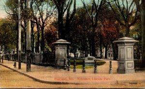 Maine Portland Lincoln Park Entrance