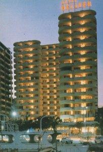 Palma de Mallorca Hotel Bellver Palma Night Dusk Spain Postcard