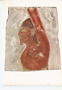 Postal 037573 : Art egyptien: Prisonnier etranger (Moyen Empire)