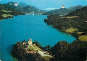 Postcard Austria Salzburg region Hotel Schlos