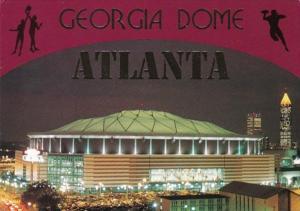 Georgia Atlanta The Georgia Dome Stadium