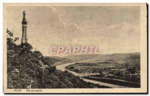 Old Postcard Trier Mariensäule