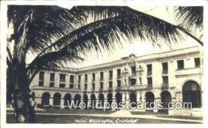 Real Photo Hotel Washington Cristobal Panama 1936