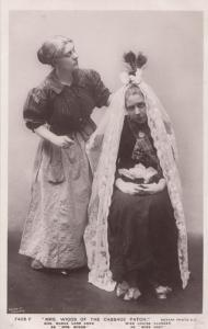 Louise Closser Madge Carr Cook Mrs Wiggs Of The Cabbage Patch Play RPC Postcard