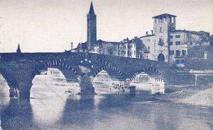 Italy Verona Ponte Pietra