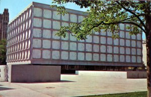 New Haven CT -Beinecke Rae Book and Manuscript Library at Yale University, 1950