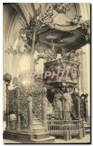 Old Postcard Antwerp Verite Chair of the Cathedral