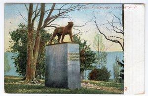 Bennington, VT, Catamount Monument