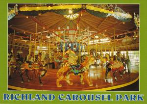 Amusement Park ; Richmond Carousel Park , Mansfield , Ohio , 50-70s