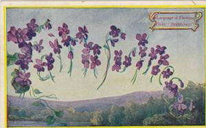 Language Of Flowers, Violet: Faithfulness, 1900-1910s