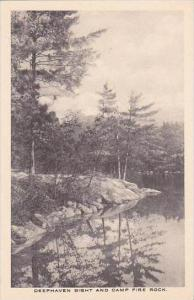 New Jersey Deephaven Bight And Camp Fire Rock Albertype