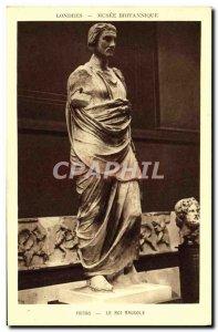 Old Postcard London Columbia Museum Phidias King Mausolus