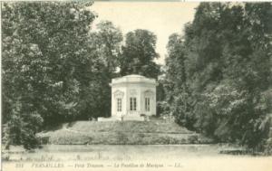 France, Versailles, Petit Trianon, Le Pavillon de Musique...