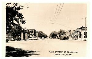 Minnesota  Edgerton , Main street  RPC