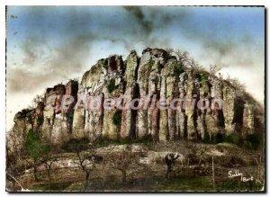 Postcard Modern Organs of Bort Correze