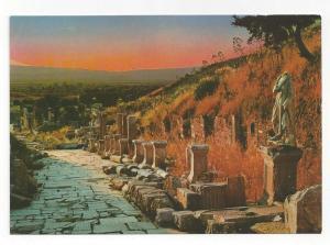Turkey Efes Ephesus Arcadian Harbor Street Postcard 4X6