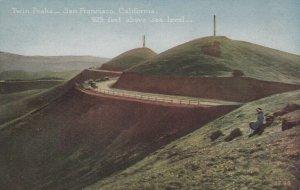 San Francisco , Ca , 1900-10s ; Twin Peaks