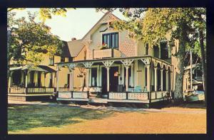 Martha's Vineyard, Massachusetts/Ma Postcard,Oak Bluffs,Campground,Cape Cod #2