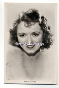 b4592 - Film Actress - Janet Gaynor, Picturegoer postcard No.608b