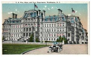 1920's War - State & Navy Department Washington D.C. PC1997